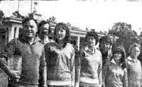 Команда Минска, во второй раз выигравшая Кубок СССР по виндсерфингу