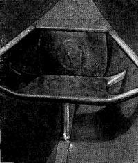 Конструкция банки на металлическом каноэ
