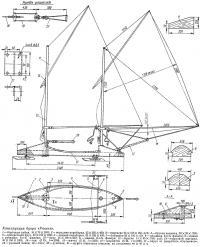 Конструкция буера «Ракета»
