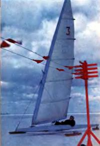 Конструкция буера выполненная С. Виттом