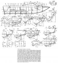 Конструкция корпуса мотолодки
