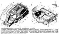 Конструкция носовой и кормовой частей корпуса мотолодки