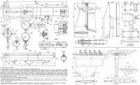 Конструкция рангоута, киля и рулевого устройства