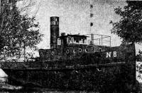 Корабль-памятник — речной буксир «Ижорец-8»