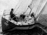 Крен яхты «Монг»