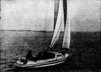 Крейсерский швертбот из армоцемента на Волге