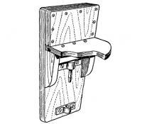 Кронштейн для подвески мотора