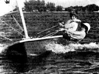 «Лазер» — отличная лодка для подростков