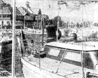«Ливико» у причала Королевского яхт-клуба Швеции в Сандхамне