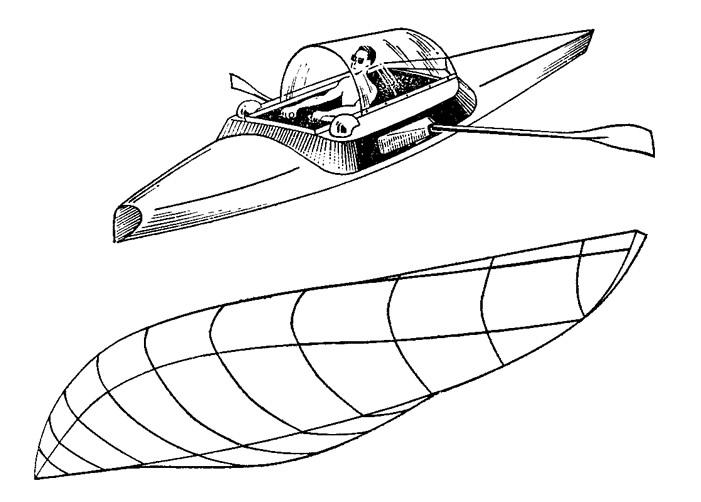 Лодка для трансокеанских путешествий