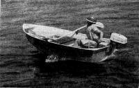 Лодка «Ерш» с мотором «Салют»