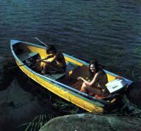 Лодка «Форель» с двумя пассажирами