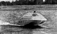 Лодка «Марс-М» на ходу