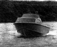 Лодка «Москва-2» на полном ходу