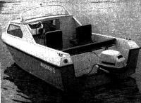 Лодка «Москва-2» вид сзади