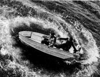 Лодка «Мотылек» с мотором