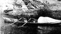 Лодка на ходу в снаряженном состоянии