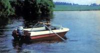 Лодка «Неман» на веслах