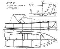 Лодка охотника и туриста «Утка-2»