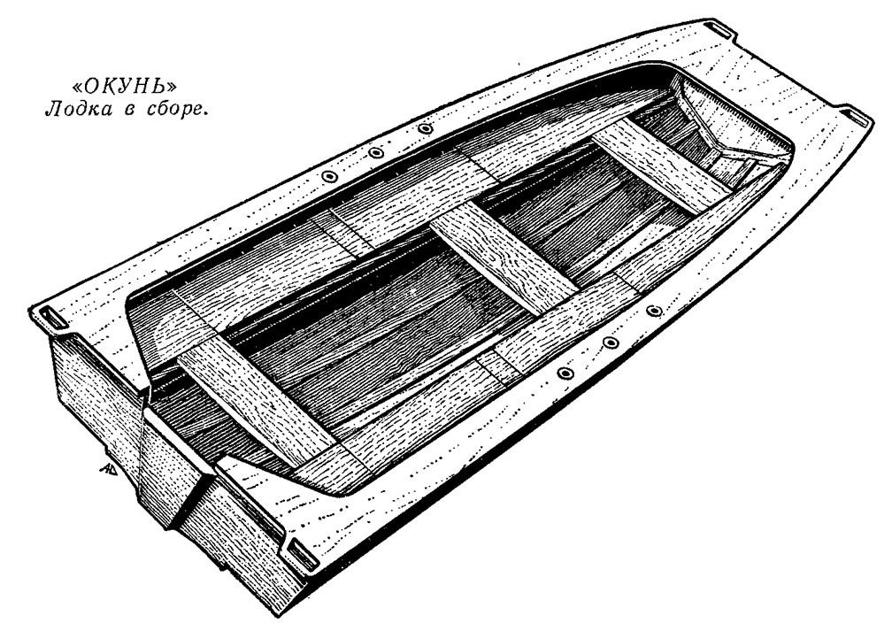 лодка окунь с фанеры своими руками чертежи