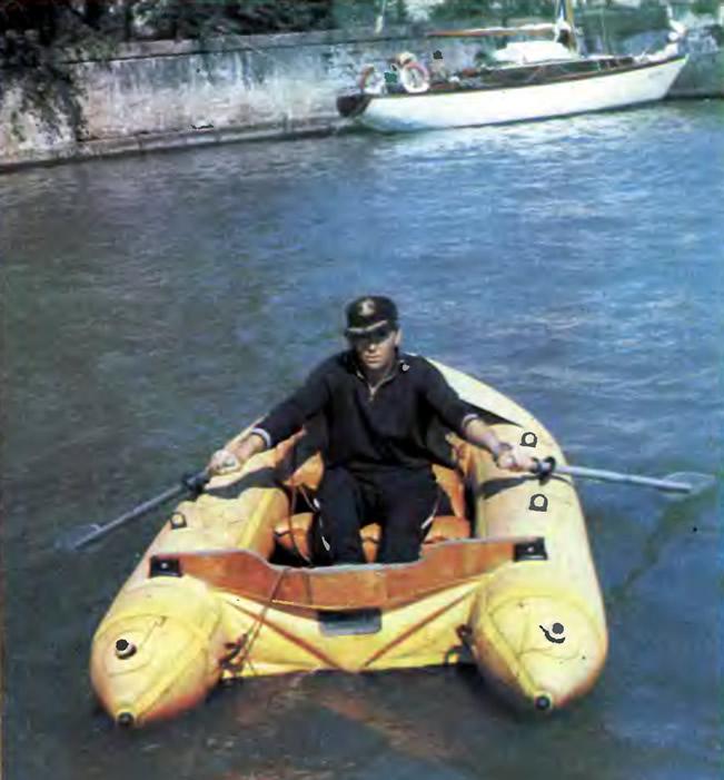 Лодка «Орион» с веслами