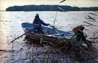 Лодка «Пелла» с веслами