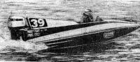 Лодка Р. Дженкинса, лидировавшая с большим отрывом в течение 16 часов