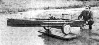 Лодка в сборе на тележке