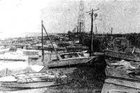 Лодочная стоянка фабрики бытовых услуг «Волна» в г. Жданове