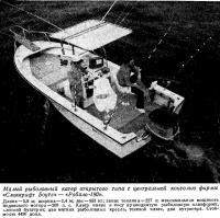Малый рыболовный катер открытого типа фирмы «Сликкрафт Боутс» «Робало-190»