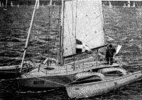 «Маттиа» на старте ОСТАР-80