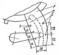 Механизм поворота магдино «Вихря»