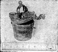 Мерка, найденная в бухте Командор