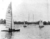Молодые яхтсмены Энергодара выходят на тренировку