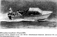 Мотолодка-«хардтоп» «Терхи-520»