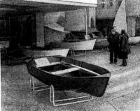 Моторно-гребная лодка «Ингул»