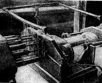На многошпиндельном станке засверливаются все отверстия во фланце дейдвудной трубы