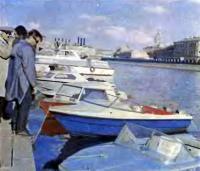 На Москве-реке на фирменной выставке ЦКБ «Нептун»