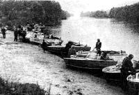 На реке Эмайыги после финиша ралли
