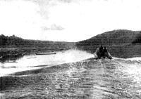 На Сухоне во время сплава