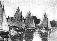 На VII Олимпиаде впервые участвовали яхты-монотипы; это были 12-футовые швертботы-одиночки