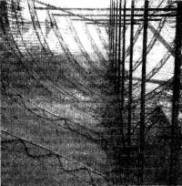 Набор армоцементного корпуса с ферменными шпангоутами из стальных стержней