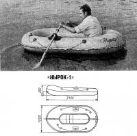 Надувная лодка «Нырок-1»