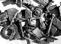 Находки на том месте, где когда-то снаряжали бот «Св. Гавриил»