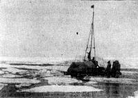 Наш плот среди льдин