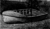 Натурный фанерный вариант лодки «Д-260»
