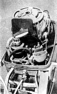 «Нептун-23-электро» со снятым капотом