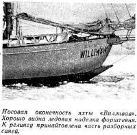 Носовая оконечность яхты «Вилливав»