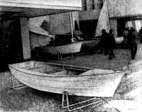 Новая гребно-моторная лодка «Язь»