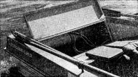 Новая конструкция кормового багажника на «Казанке-5М2»